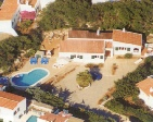 Aerial image of Menorca Holiday villa owned by Ian Perry